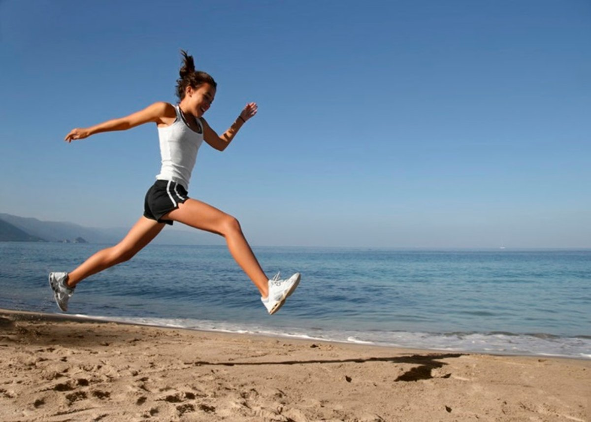 Mejora Tu Condición Física Corriendo En La Arena